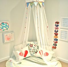 Was thinking of getting this canopy from ikea for our reading nook- great to see it will work!