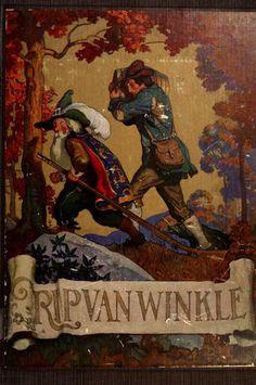Rip Van Winkle, illustrated by N.C. Wyeth, 1921  via archives.org