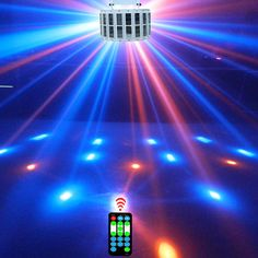 Professional LED disco lamp stage effect lighting party effect light 9 color RGB Par light DMX laser Lighting with remote contro #Affiliate