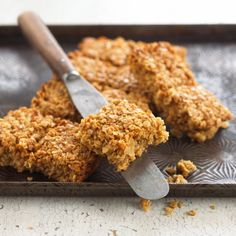 Lyle's Classic Flapjacks made from rolled oasts flavored with our Lyle's syrup, an icon in Great Britain