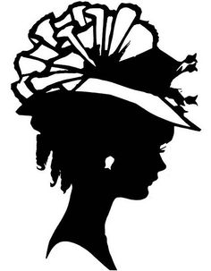 vintage silhouettes | vintage silhouette | Flickr - Photo Sharing! Silhouette Images, Vintage Silhouette, Woman Silhouette, Black Silhouette, Tea Party Hats, Cute Embroidery, Embroidery Patterns, Art Plastique, Illustrations