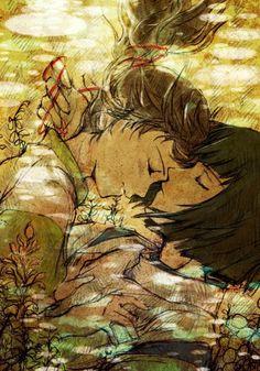 Chihiro and Haku <3 (Spirited Away)