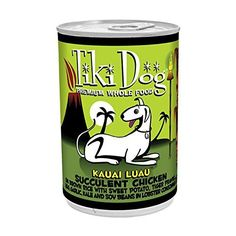 Tiki Pet Foods Dog Canned Dog Food, Kauai Chicken and Prawn Recipe (24 Pack), 14 oz *** Click image to review more details.