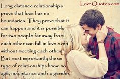 Long Distance Relationships - LoveQuotes.com