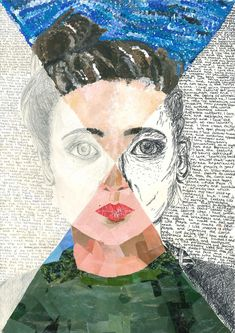 mixed media art Beaudesert Art: Year 7 Mixed Media Self Portraits Self Portrait Kids, Portraits For Kids, Self Portrait Drawing, Creative Self Portraits, Self Portrait Artists, Portrait Ideas, Self Portait, 7 Arts, Gcse Art Sketchbook