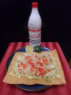 Chicharron de Cueritos con Salsa San Luis