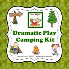 Do you struggle to find time to change out the props in your dramatic play center? These printable props will help you easily create a camping them...