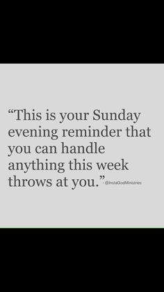 I'm sure everyone could use this so here's a little Sunday motivation.