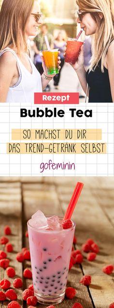 Bubble Tea: So machst du dir das Trend-Getränk selbst
