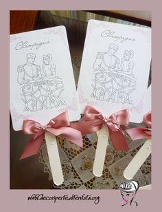 """Cinderella"" candies cards"