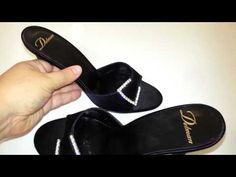 Delman black satin slip-on evening sandals w/sparkly bling buckles~6.5 http://shopvido.com/posting-4632-delman_black_satin_slip_on_evening_sandals_w_sparkly_bling_buckles_6_5.aspx $75