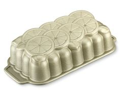 Nordic Ware Citrus Loaf Pan #williamssonoma - Perfect for lemon-poppyseed cake topped with glaze or powdered sugar.