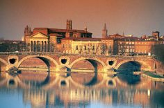 Toulouse, France. WHAT a beautiful place to see.