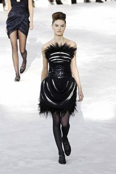 Chanel Spring 2008 Couture Collection Slideshow on Style.com