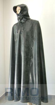 Rain Cape, Rubber Raincoats, Heavy Rubber, Sack Bag, Pvc Vinyl, Andreas, Macs, Latex Fashion, Rain Wear