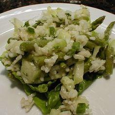 Rice, Asparagus and Cucumber Salad - Allrecipes.com