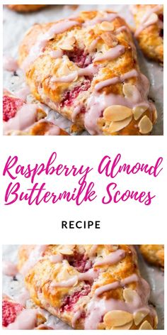 Jan 2020 - Preheat oven to Adjust baking rack to the middle-low position. Line a large baking sheet with parchment paper or a silicone baking mat. In a large bowl, whisk the fl Buttermilk Scone Recipe, Raspberry Recipes, Raspberry Scones, Baking Scones, Delicious Desserts, Yummy Food, Breakfast Recipes, Dessert Recipes, Baking Recipes