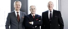 (BFM Member of Board: Karlheinz Jost, Dipl. Oec. Wolfgang Hofmann, Dr. Ing. h.c. Heribert J. Wiedenhues / from left) Two strong networks, the Institut für den Mittelstand (IFM) in Berlin and the BrainFleet Management (BFM) in Frankfurt/Main have decided to bundle their respective strengths within the framework of a cooperation agreement.   #brainfleet #cooperation #Germany #institute #mittelstand #sign