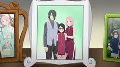 Uchiha family photo Sasusakusara