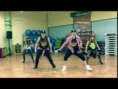 Hypasounds - Bam Bam Back - Zumba ® Fitness Choreo by Nichol - YouTube