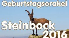 Geburtstagsorakel Steinbock 2016