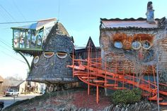 Check out these crazy house photos of the world's most bizarre homes. These crazy cool houses don't seem like they're real – but they are!