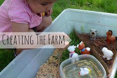 Farm Sensory Box for Toddlers