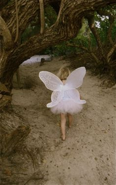 Pink fairie - this was exactly how my 21/2 year old grandaughter dressed for Halloween this year. Even looks like Sylvie from behind! So sweet! (Oct. '13)