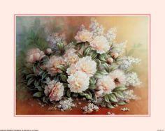 Peonies Bouquet Reprodukcje autor T. C. Chiu w AllPosters.pl