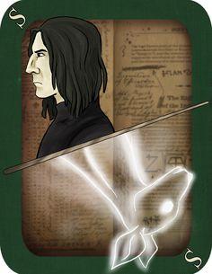 imaginative-ink: Snape