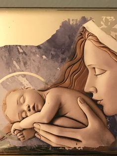 Most Blessed Mother & Jesus