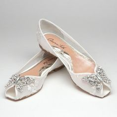 And for the evening...Liana Ballerina in Ivory Lace