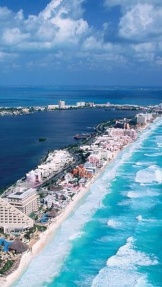 Look at the color of the water...Race you...mexico-gulf-cancun-quintana-roo-mexico-north-america-