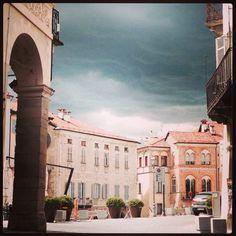 Piazza Maggiore Mondovi' Italy