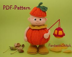 Crochet Pattern Christmas Angel Amigurumi por FantasticStitch