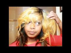 How To: QUICK WEAVE ON FLEEK TUTORIAL |MSTUNECHIIBADD | - YouTube