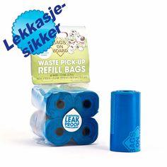 Nettdyret.no - Dyrebutikk - Fri frakt over 500,- Hundeposer Refill Blue 60stk Bags on Board - Renslighet - Hygiene - Hund
