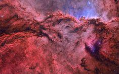 Red emission nebula #1