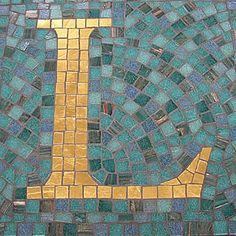Letter L  mosaic