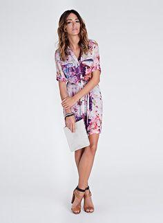 Freida Print Shirt Dress | Dresses | Baukjen | www.isabellaoliver.com/baukjen/600/DR569.html