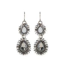Parfois  Grey Mist Earrings €6.99