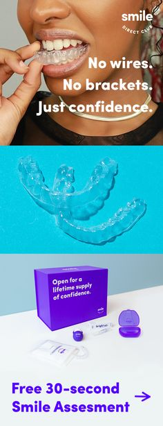 Get a smile you'll love for less than braces or other invisible aligners. Get started with your free smile assessment today to see how it works. Teeth Whitening Products One Teaspoon Just In Case, Just For You, Natural Hair Styles, Short Hair Styles, Baking Soda Shampoo, Teeth Care, Skin Tag, Warts, Tips Belleza