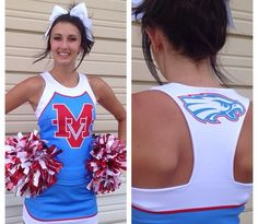 Marsh Valley High School Cheer Uniforms #nycecheer