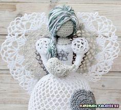 Рождественские ажурные ангелы крючком. Идеи - Handmade-Paradise