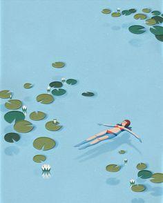 Childhood Memories | #illustration by Arnelle Woker on Behance