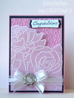A Manhattan wedding card | Sara's crafting and stamping studio