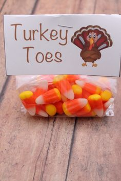 Turkey Toes + FREE Printable to make your own!