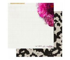 Papier 30x30 - Hawthorne - Heidi Swapp - Hayden Heidi Swapp