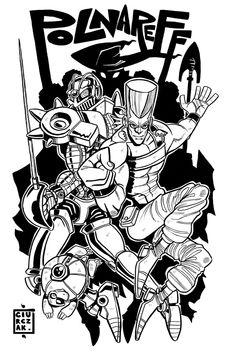 Jean-Pierre Polnareff & Silver Chariot - by SoulKarl (Dan Ciurczak) - JoJo's Bizarre Adventure: Part III - Stardust Crusaders