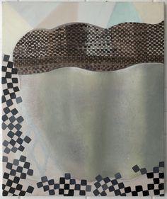 Adrienne Vaughan, Ruz, 2011, Oil and enamel on canvas, 605 x 505mm